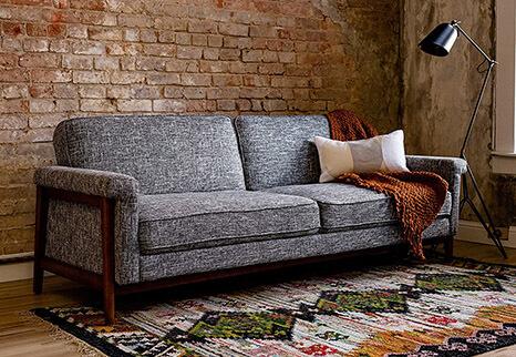 Edloe Finch Mid-Century Sofa Bed Sleeper