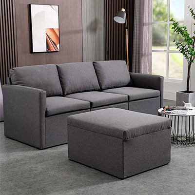MU Convertible Sectional Sofa Couch