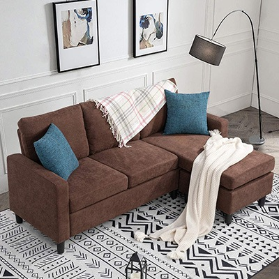 Walsunny Convertible Sectional Sofa
