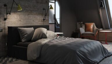 luxury-masculine-bedding-sets-bachelor-pad