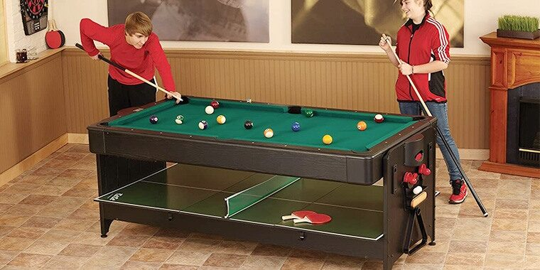 best multi game tables