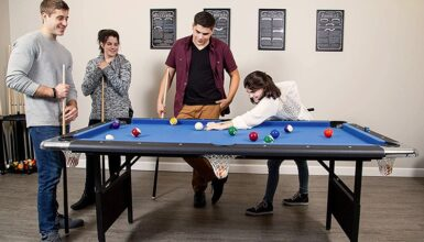 best folding pool tables