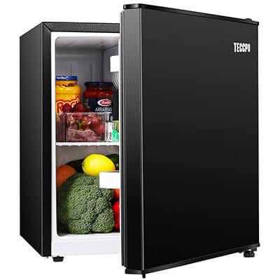 TECCPO Small Refrigerator