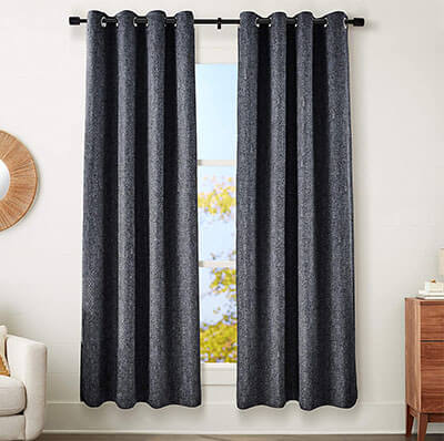 AmazonBasics Blackout Soundproof Curtain