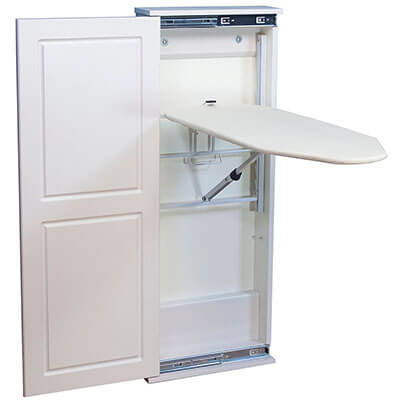 Household Essentials 18300-1 Fold Away Ironing Board Cabinet