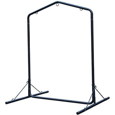 Lazy Daze Deluxe Hammock Swing Chair Steel Stand