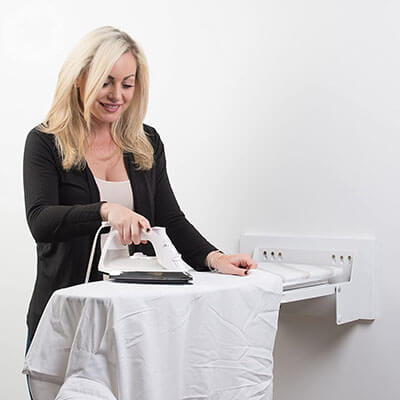 Superior Essentials Wall Mounted Ironing Board