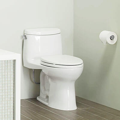 Toto MS604114CEFG-01 UltraMax II One-Piece Universal Height Toilet