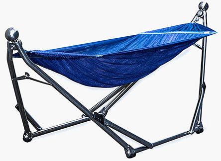 Wynn Wyse Designs Portable Stainless Steel Hammock Stand