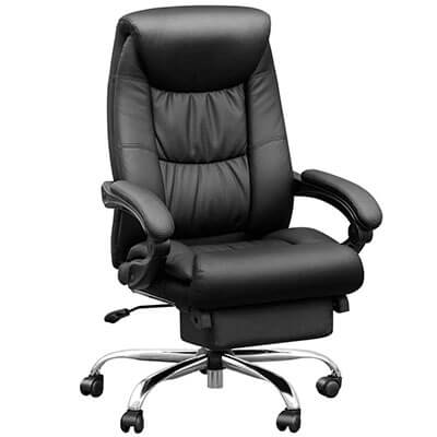 Duramont Reclining Leather Office Chair