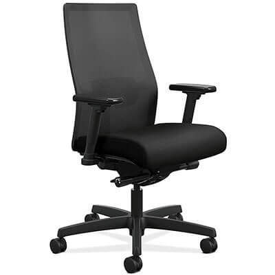 HON Ignition 2.0 Mid-Back Adjustable Computer Chair