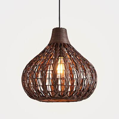 HAIXIANG-Weave-Wicker-Ceiling-Light