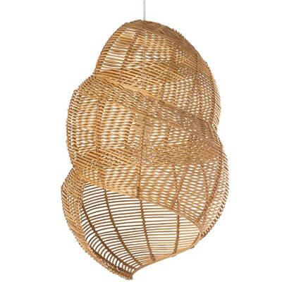 Wicker-Coiled-Shell-Pendant-Lamp