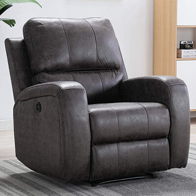 Bonzy Home Overstuffed Heavy Duty Electric Chair