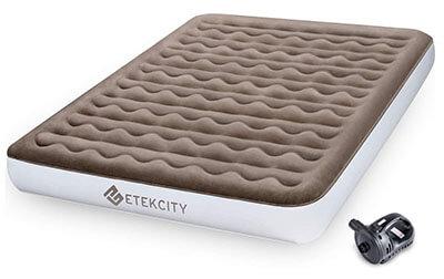 Etekcity Queen 9 Heavy Duty Camping Air Mattress with Built-in Bump