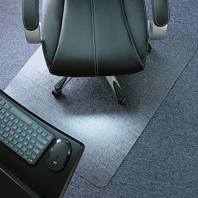 Marvelux Heavy Duty Polycarbonate Office Chair Mat