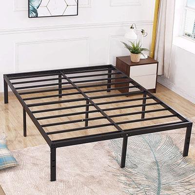 TATAGO Heavy Duty Metal Platform Bed Frame