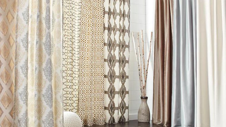 bedroom curtain fabrics