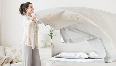 wash new sheets
