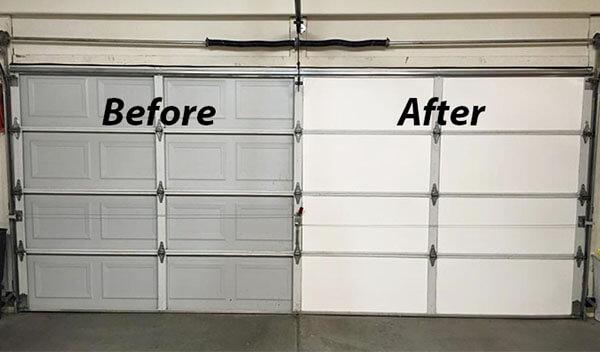 Insulating The Garage Door