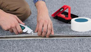 keep carpet edges from fraying