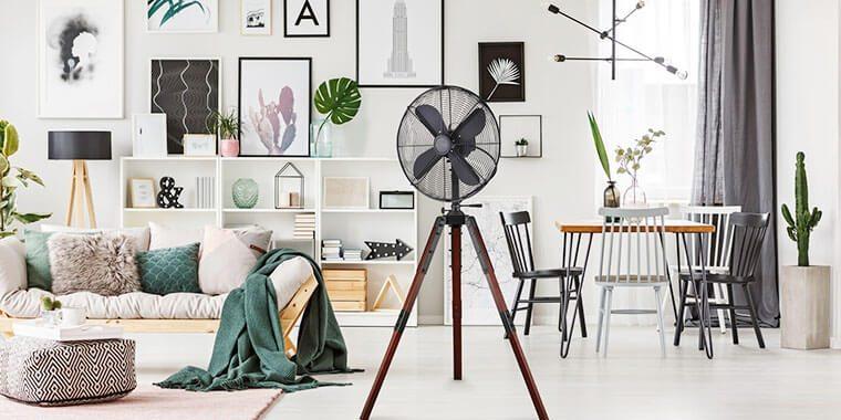 make a room fan quieter