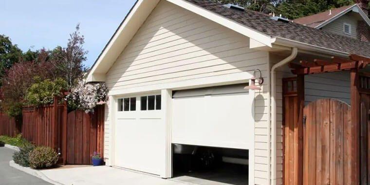 sealing garage door from inside