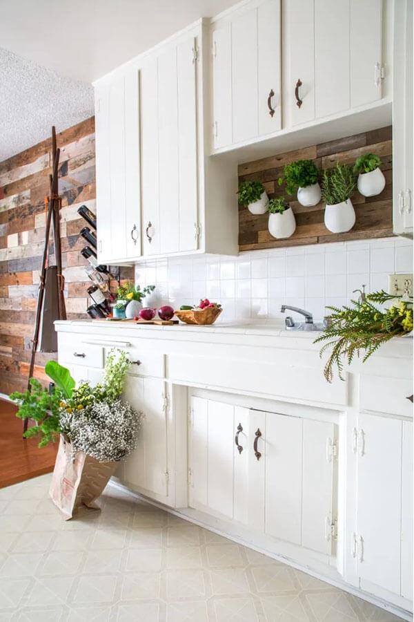 plants over kitchen sink
